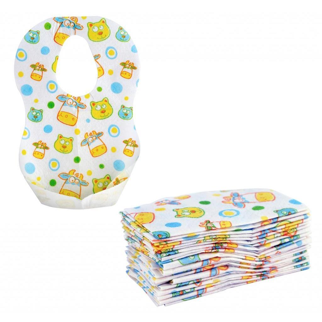 Munchkin Disposable Bibs (24 Pack) (24 Pack), White