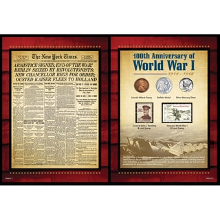 American Coin Treasures New York Times World War I Coin and Stamp Portfolio