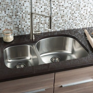 Hahn Chef Series 30/70 Double Bowl Sink
