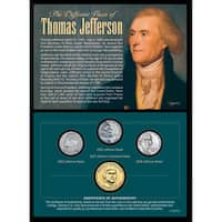 American Coin Treasures Different Faces of Thomas Jefferson