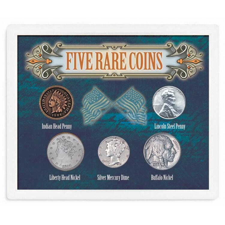 American Coin Treasures Five Rare Coins (Five Rare Coins)...