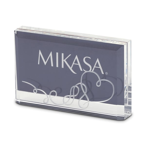 Shop Mikasa Love Story 4 X 6 Inch Photo Frame Free Shipping On