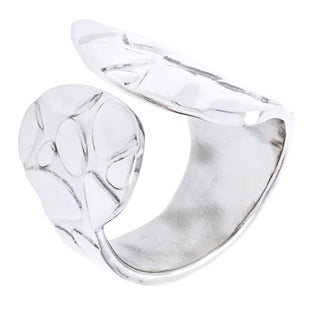 .925 Sterling Silver Cobblestone Fashion Ring