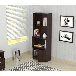 Clay Alder Home Freemont Espresso Bookcase and Cabinet