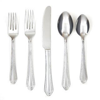 Farberware Tumeric 45-piece Flatware Set