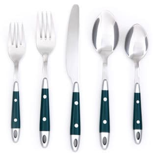 Cambridge Caravel Green 20-piece Flatware Set
