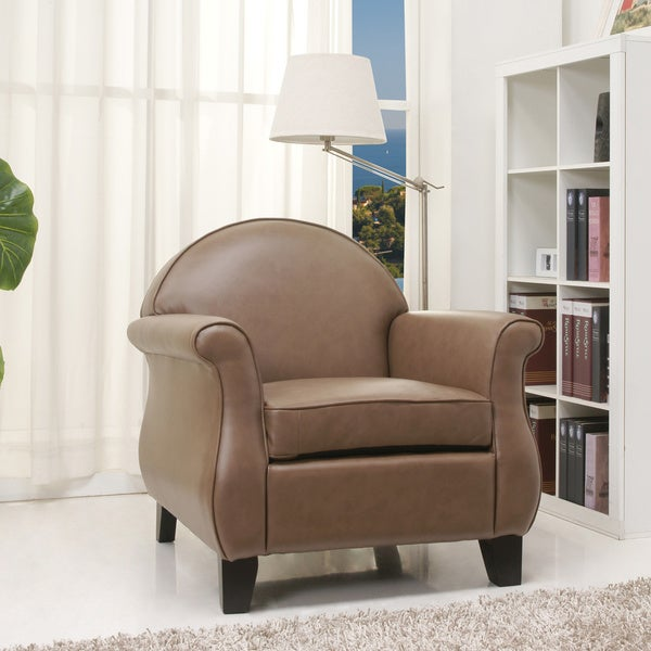 Gold Sparrow Fresno Taupe Arm Chair