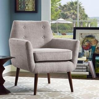 Clyde Beige Linen Chair