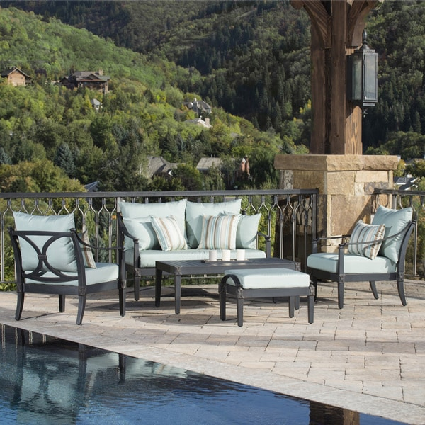 Shop RST Brands Astoria 5-piece Love and Club Chair ...