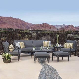 RST Brands Astoria Outdoor 8-piece Sofa and Club Chair Set