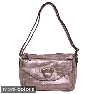 Bueno 'Vicki' Small Faux Snakeskin Crossbody Bag