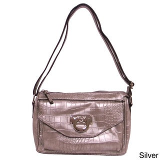Bueno 'Vicki' Small Faux Snakeskin Crossbody Bag