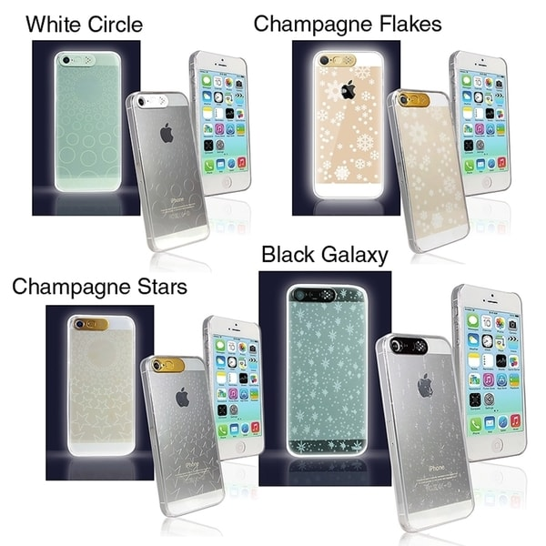 Van D LED Flashing Light up Hard Cover Case for Apple® iPhone 5/ 5S