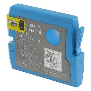 INSTEN Cyan Compatible Brother LC51C/ LC51 Ink Cartridge