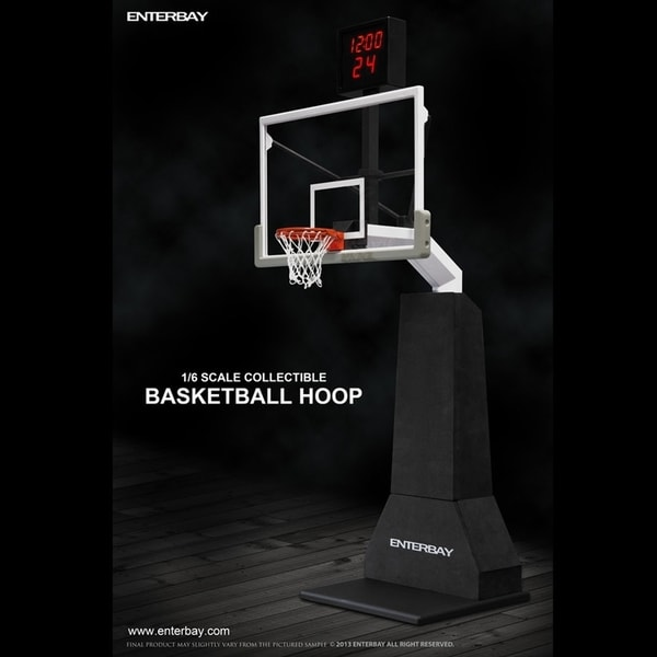Enterbay 1 6 Scale Basketball Hoop With Shot Clock Free