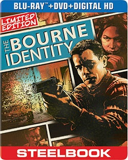 Bourne Identity Limited Edition Steelbook (Blu-ray/DVD)