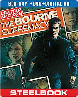 Bourne Supremacy Limited Edition Steelbook (Blu-ray/DVD)