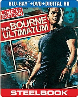 Bourne Ultimatum Limited Edition Steelbook (Blu-ray/DVD)