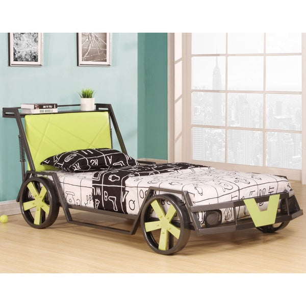 Youth Twin Car Bed Free Shipping Today Overstock