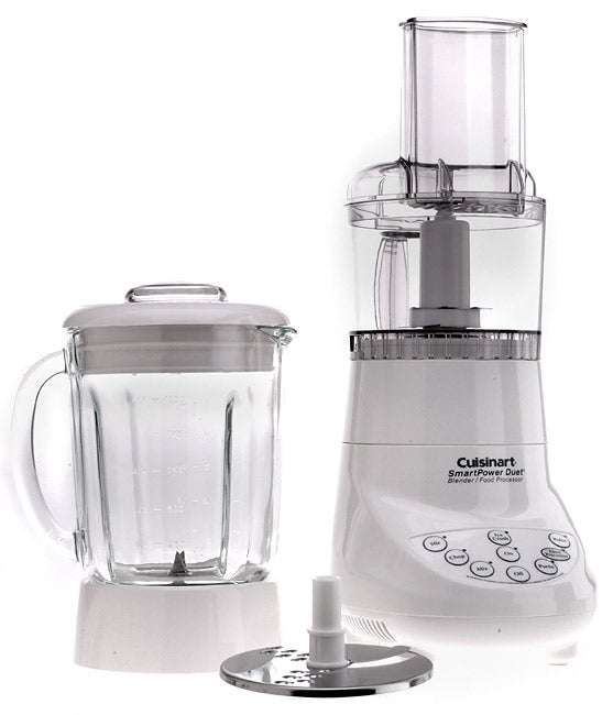 Cuisinart BFP-703FR White SmartPower Duet Blender/ Food Processor (Refurbished)