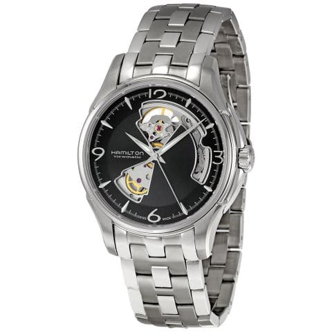 Hamilton Men's H32612135 'Jazzmaster' Chronograph Automatic Stainless Steel Watch