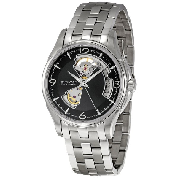Hamilton-Mens-Jazzmaster-Black-Skeleton-