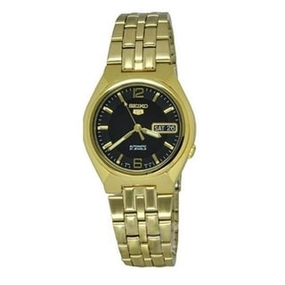 Seiko Men's Automatic Goldtone Stainless Steel Watch
