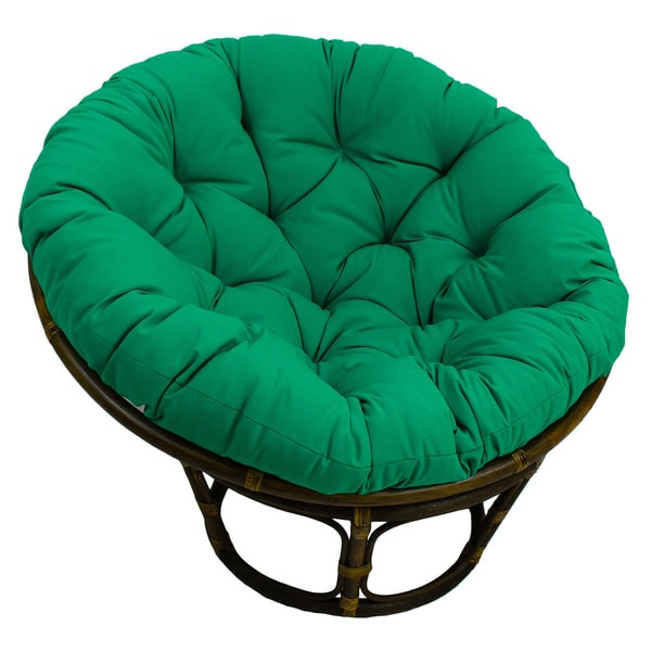 Blazing Needles 44 Inch Solid Twill Papasan Cushion 44