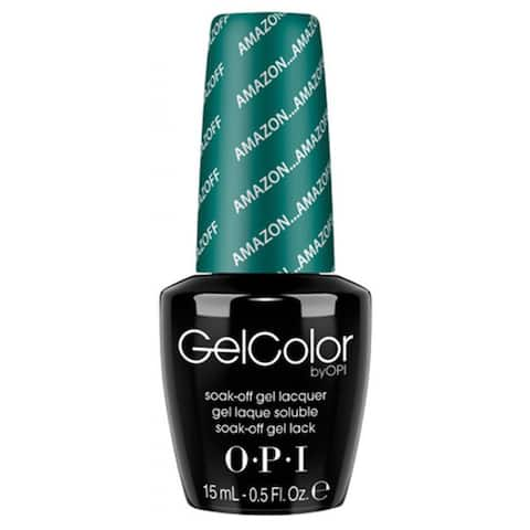 OPI AmazON...AmazOFF GelColor