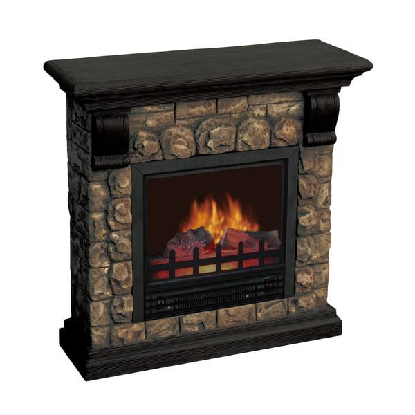 Dublin Polystone Electric Fireplace