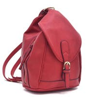 Dasein Classic Convertible Backpack/ Shoulder Bag