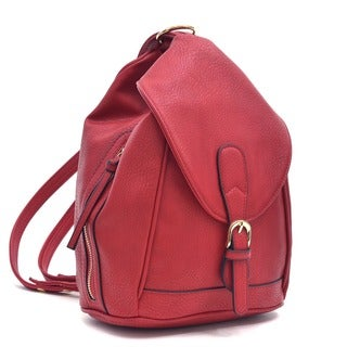 Dasein Classic Convertible Backpack/ Shoulder Bag