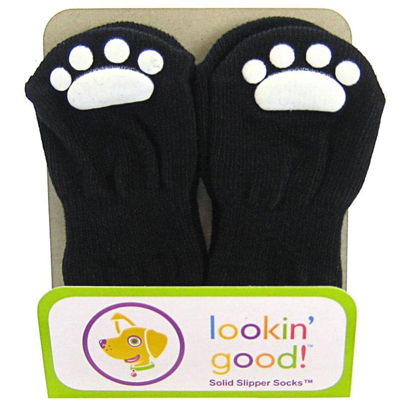 Ethical Products Black Slipper Socks (660204011990), Size...