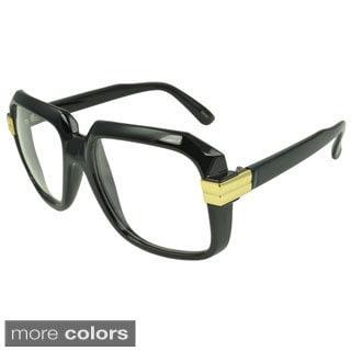 EPICEyewear 'Eaglewood' Clear Lens Square Fashion Sunglasses