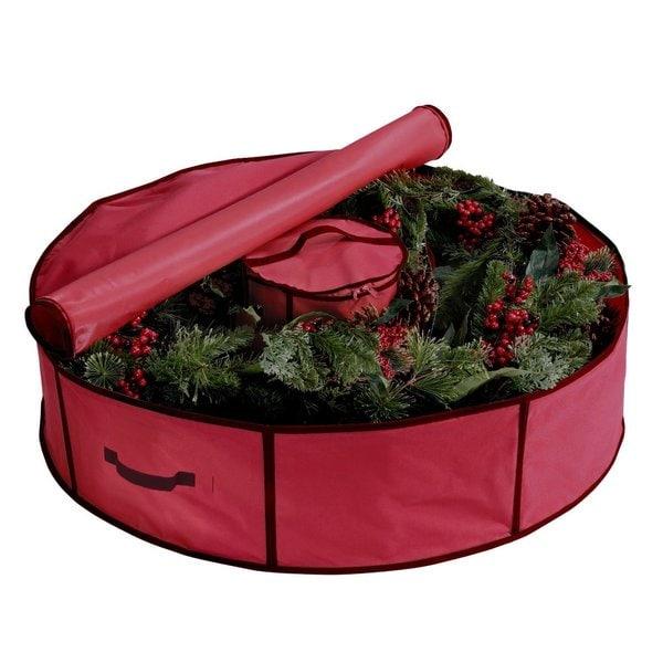 storage u0026 store shop the best deals for sep - Wreath Storage Box