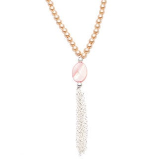 Karla Patin Bronze Pearl Necklace