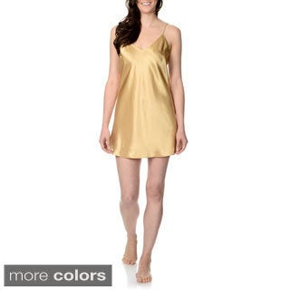 SoulMates Women's Sleeveless Satin Slip