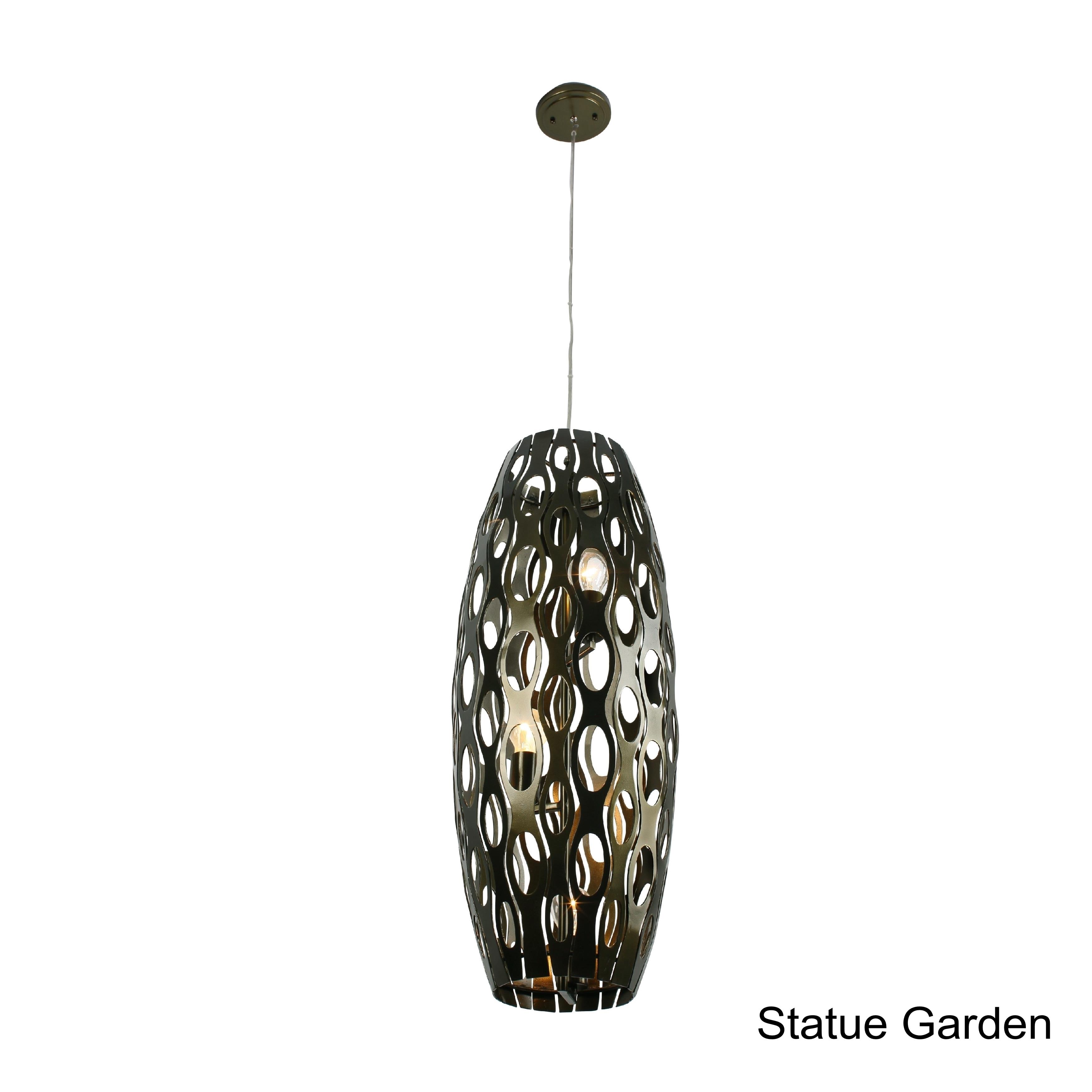 Varaluz Masquerade 3-light Foyer Pendant (Statue Garden),...