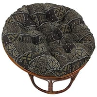 Blazing Needles 44-inch Tapestry Papasan Cushion