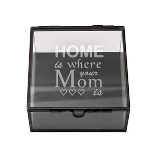 Mother's Day Custom Glass Shadow Box