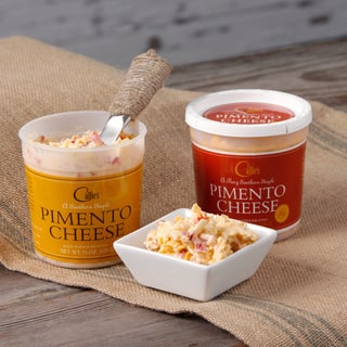 Callie's Regular and Fiery Pimento Cheese Spread|https://ak1.ostkcdn.com/images/products/8822513/Callies-Regular-and-Fiery-Pimento-Cheese-Spread-P16055545.jpg?impolicy=medium