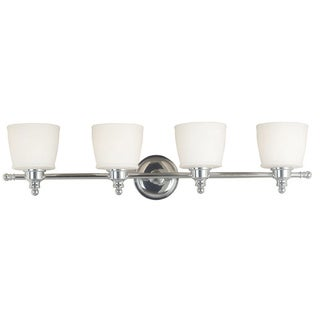 Martana Chrome-finish 4-light Vanity
