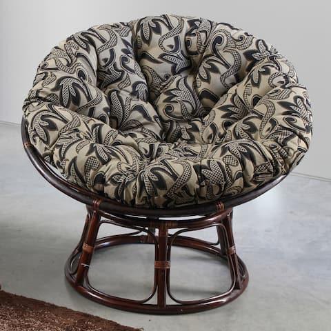 Blazing Needles 48-inch Tapestry Papasan Cushion