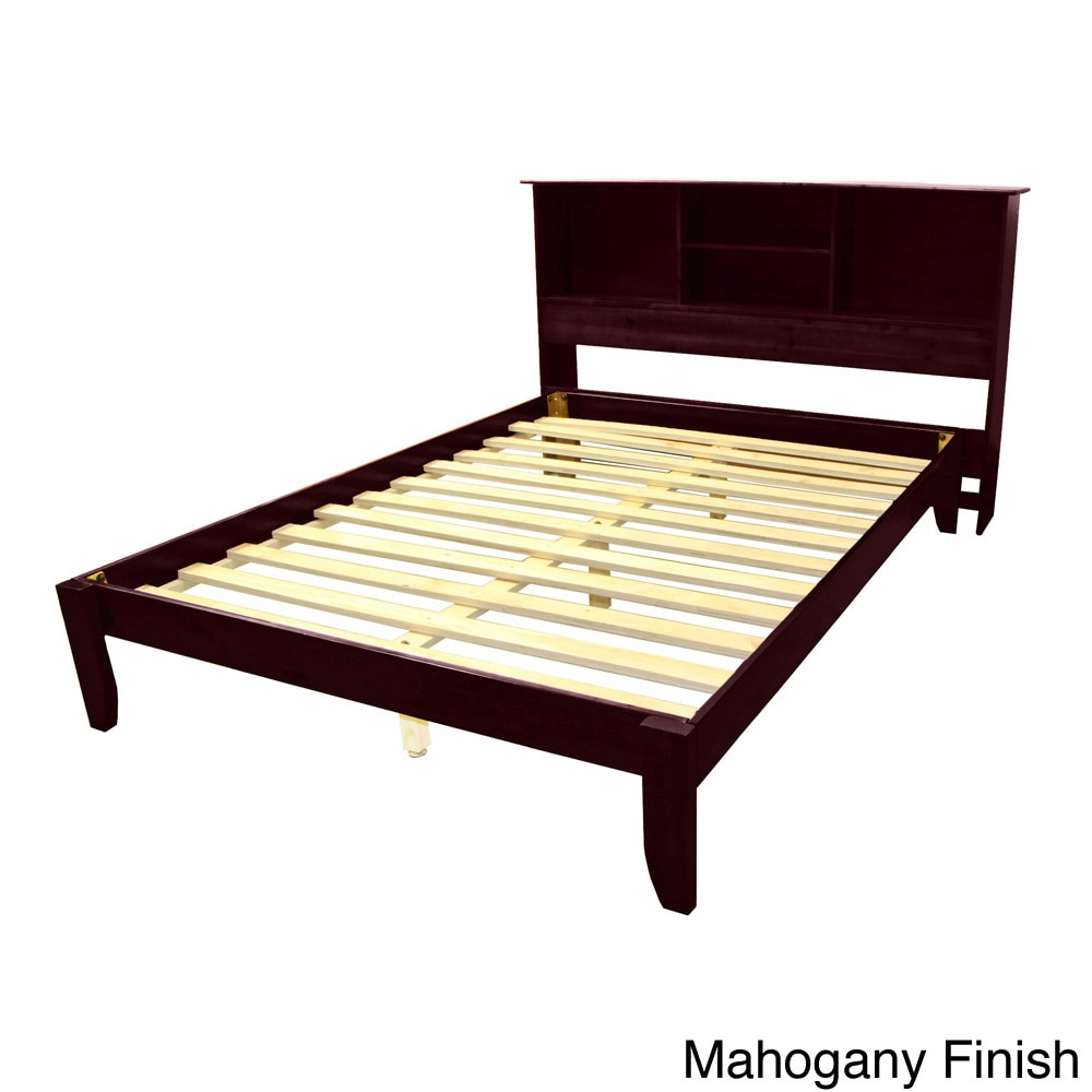 gracewood hollow chevalier king size solid bamboo wood platform bed with ebay. Black Bedroom Furniture Sets. Home Design Ideas