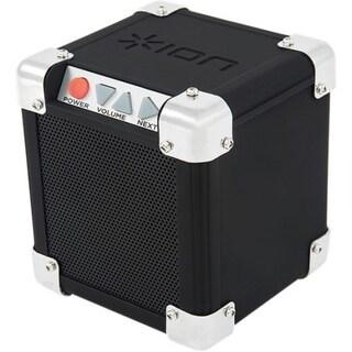 ION Rock Block Speaker System - Desktop, Portable - Battery Rechargea