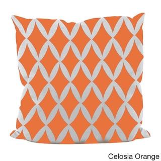 18x18-inch Geometric Decorative Throw Pillow