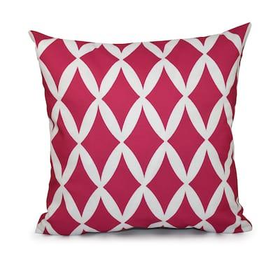 16x16-inch Geometric Decorative Throw Pillow