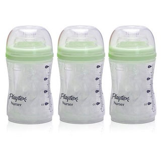 Playtex Drop-in 4 oz. Bottles with 15 Liners (Set of 3)