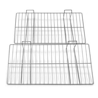 Proslat 12x24-inch Silver Wire Shelf (Pack of 2)