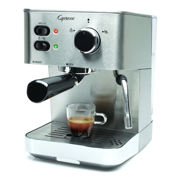 capresso ec pro professional espresso cappuccino machine. Black Bedroom Furniture Sets. Home Design Ideas